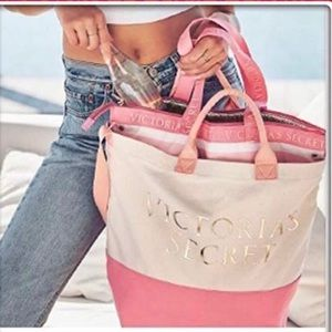 Victoria's Secret 2 in 1 cooler tote